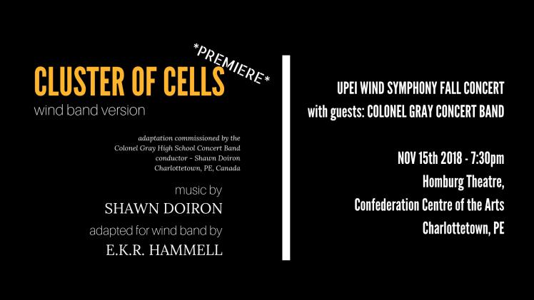 CLUSTER OF CELLS website promo